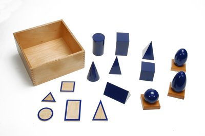 Image #1 of Montessori Geometric Solids