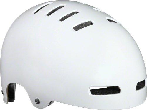 Lazer Next Helmet: LG, Gloss White