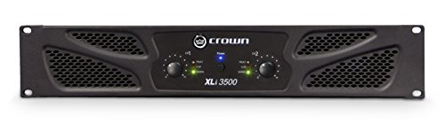 Crown XLi3500 Two-channel, 1350W Power Amplifier (Crown Power compare prices)