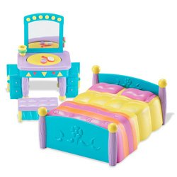 Fisher-Price Dora the Explorer: Dora's Talking House Mama and Papi's Room (Fisher Price Dora House compare prices)