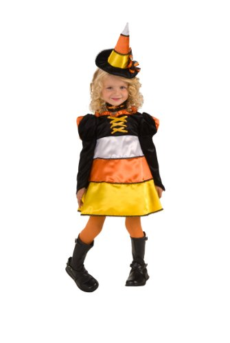 Rubie's Let's Pretend Candy Corn Witch Costume - Medium (6-8)
