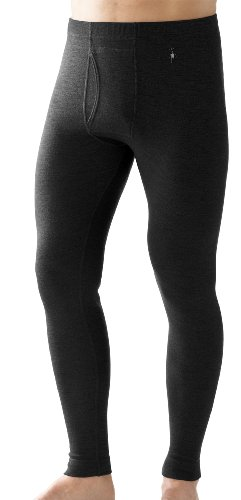 Smartwool NTS Midweight Mens Sports Leggings - L, Black