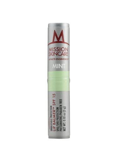 MISSION Skincare Lip Balmer, Mint, .1-Ounce Unit
