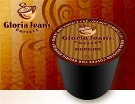 Gloria Jean's Mudslide Coffee * 1 Box of 24 K-Cups *