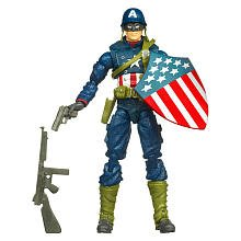 Captain America Movie 4 Inch Series 1 Action Figure Battlefield Captain America WWII