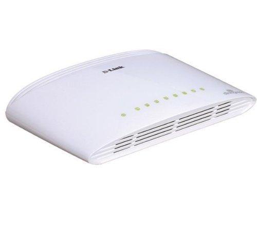 D-Link DGS-1008D Switch 8 ports gigabit Ethernet Blanc