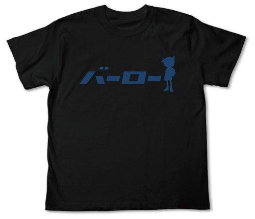 名探偵コナン バーローTシャツ ブラック サイズ:XL