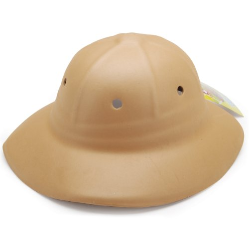 Creative Hands by Fibre-Craft Foam Safari Hat, Tan - 1
