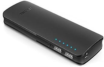 TeckNet® 2ème génération PowerZen 16000 mAh 5V/3.4A Batterie Externe munie de la Technologie BLUETEKTM 2 Ports de Sorties 3.4A Chargeur Portable compatible avec les produits suivants : Apple iPhone 6, Plus, 5S, 5C, 5, 4S, iPad 4/3/2/1, iPad Air ,iPad Mini, Samsung Galaxy Tab S5, S4, Note Tab, Nexus, HTC, Motorola, Nokia, PS Vita, GoPro, ainsi que d'autres modèles de téléphones et de tablettes (Tablette ou téléphones ne sont pas inclus)