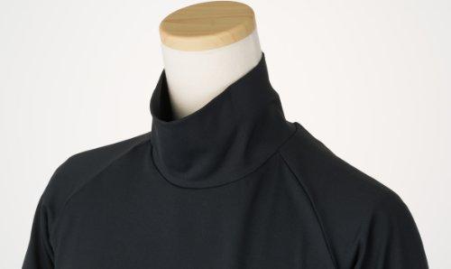 99.3% UVカット ショート丈 日焼け防止 首が凄く長い ハイネック インナーシャツ テニス ゴルフ ラン Onta well