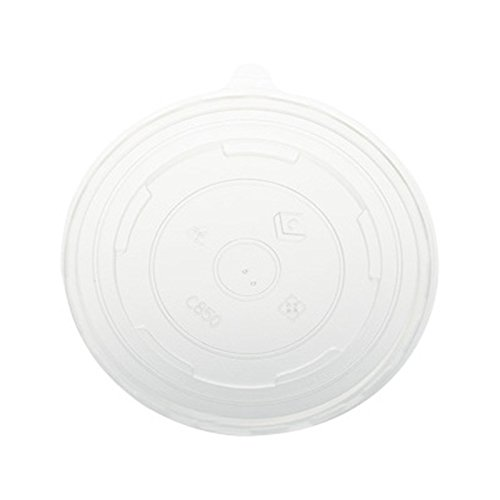 6 and 8 oz Paper Cup Flat Lids - 100 ct