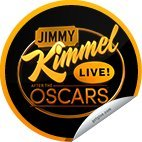 2013 GetGlue Jimmy Kimmel Live at the Oscars 2013 sticker NLA