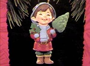 QX5976 Garden Elves Yuletide Cheer 1994 Hallmark Keepsake Ornament