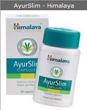 Himalaya - Ayurslim - 60 Capsules-herbal Weight Loss, Slimming, Fat Burning. Lose Weight Naturally.