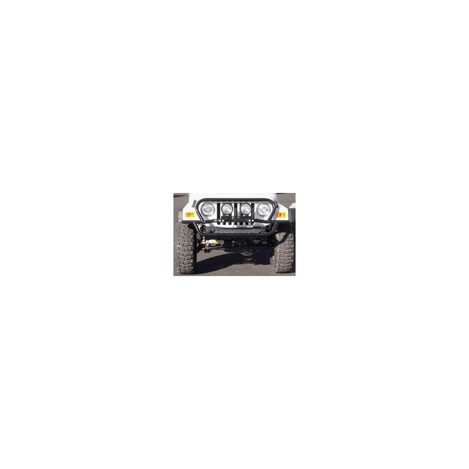 Performance Accessories 83095 Wrinkle Black Finish Rock Slider Front Bumper