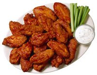 Hot Spicy Chicken Buffalo Wings Wblue Cheese 16pc from Pastacheese