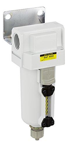PneumaticPlus SAF4000M-N06B-MEP Compressed Air Particulate Filter, 3/4