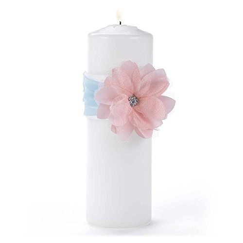 Hortense B. Hewitt Wedding Accessories Pretty Pastels Unity Candle with Wrap
