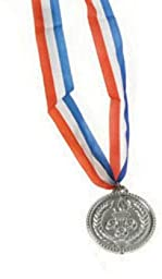 Olympic Style Plastic Bronze Medals (72 Pieces) - Olympic Style Plastic Bronze Medalsolympic Style Plastic Bronze Medals Reward A Winner With This Necklace. This Winner Ribbon Necklace Is Perfect For
