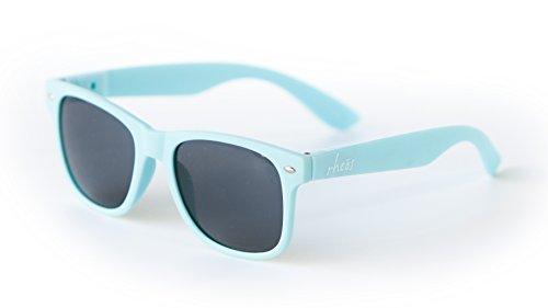 Rheos Sunglasses (UV 400): Carolina-Carolina (Light Blue Sunglasses compare prices)