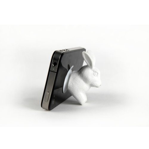 kikkerland-lhop-supporto-per-smartphone-bianco