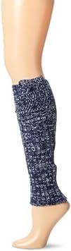 Betsey Johnson Womens Marled Rib Leg Warmer
