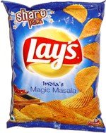 Lays Indias Magic Masala Potato Chips 70gram