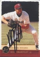 Kelly Dransfeldt Oklahoma Redhawks - Rangers Affiliate 1999 Just Autographed Hand... by Hall of Fame Memorabilia