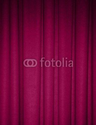Wallmonkeys Peel and Stick Wall Decals - Fuchsia Draped Backdrop Background - 48