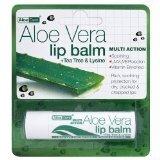 Optima Aloe Vera Sun Protect Lip Balm Tea-Tree (4G)