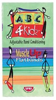 SPRI Muscle Up with ABC Flat Band Video for Kids