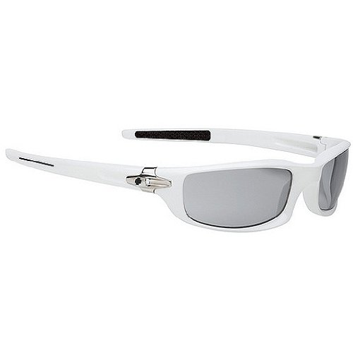 Spy Diablo Sunglasses - Spy Optic Scoop Series Fashion Eyewear - Color: White/Grey, Size: One Size Fits All