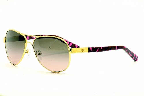Tory Burch TORY BURCH Sunglasses TY 6010 360/14 Gold Pink Vase 57MM