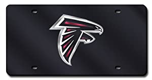NFL Atlanta Falcons License Plate Cover (Black) by Rico