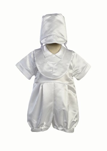 Boy S Christening Romper With Bonnet Size Xl 18 Month