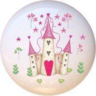 Ceramic Knob - Castle #005 - Fairytale Princess (Princess Crown Drawer Knobs compare prices)