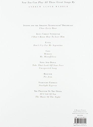 Andrew Lloyd Webber Piano Solos Psg