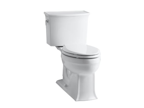 Cheap Kohler Toilets : KOHLER K-3551-0 Archer Comfort Height Two-Piece Elongated 1.28 gpf ...