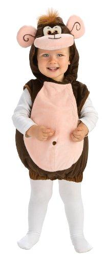 Rubie's Deluxe Baby Monkeyin' Around Costume - Toddler (1-2 Years)