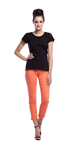 Ag Adriano Goldschmied Women'S Stilt Cigarette Roll-Up Jean, Pigment Papaya, 28