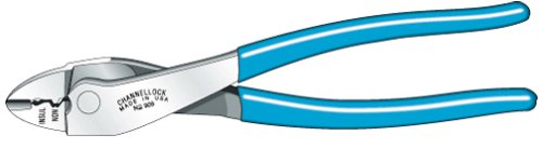 Channellock 909 Crimping Tool with Cutter