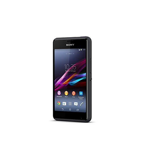Smartphone Sony Xperia E1 Dual, Android 4.3 Jelly Bean 4 gb, dual SIM nero