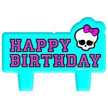 Imagen de Velas de cumpleaños 4CT Monster High