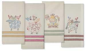 Animal Stackers Tea Towels Ptrnplus