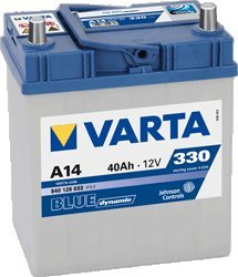 AUTO BATTERIE VARTA BLUE DYNAMIC 40 AH - 151.07.18