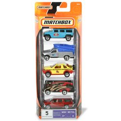 Matchbox Vehicle 5-Pack:Vacation