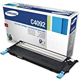 New, Samsung Laser Toner Cartridge Page Life 1000pp Cyan [for CLP310/315 series] Ref CLT-C4092S/ELS