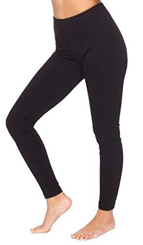 Funky Boutique Damen Leggings aus Baumwolle : Farbe - Schwarz : Größe - 10 M