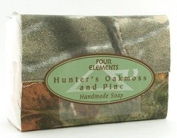 Four Elements - Hunters Oakmoss and Pine - Bar Soaps 4 oz