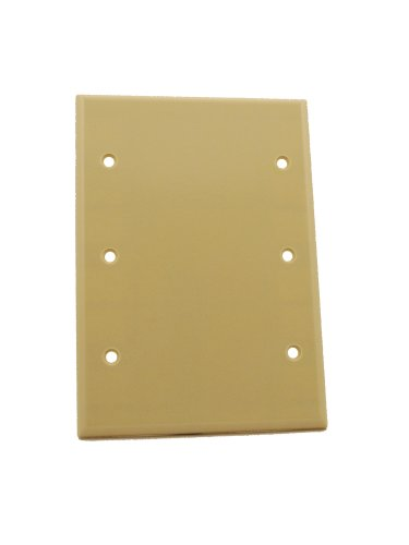 leviton-86033-3-gang-no-device-blank-wallplate-standard-size-thermoset-box-mount-ivory